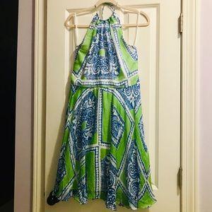 Vineyard Vines Silk Dress Sz 10